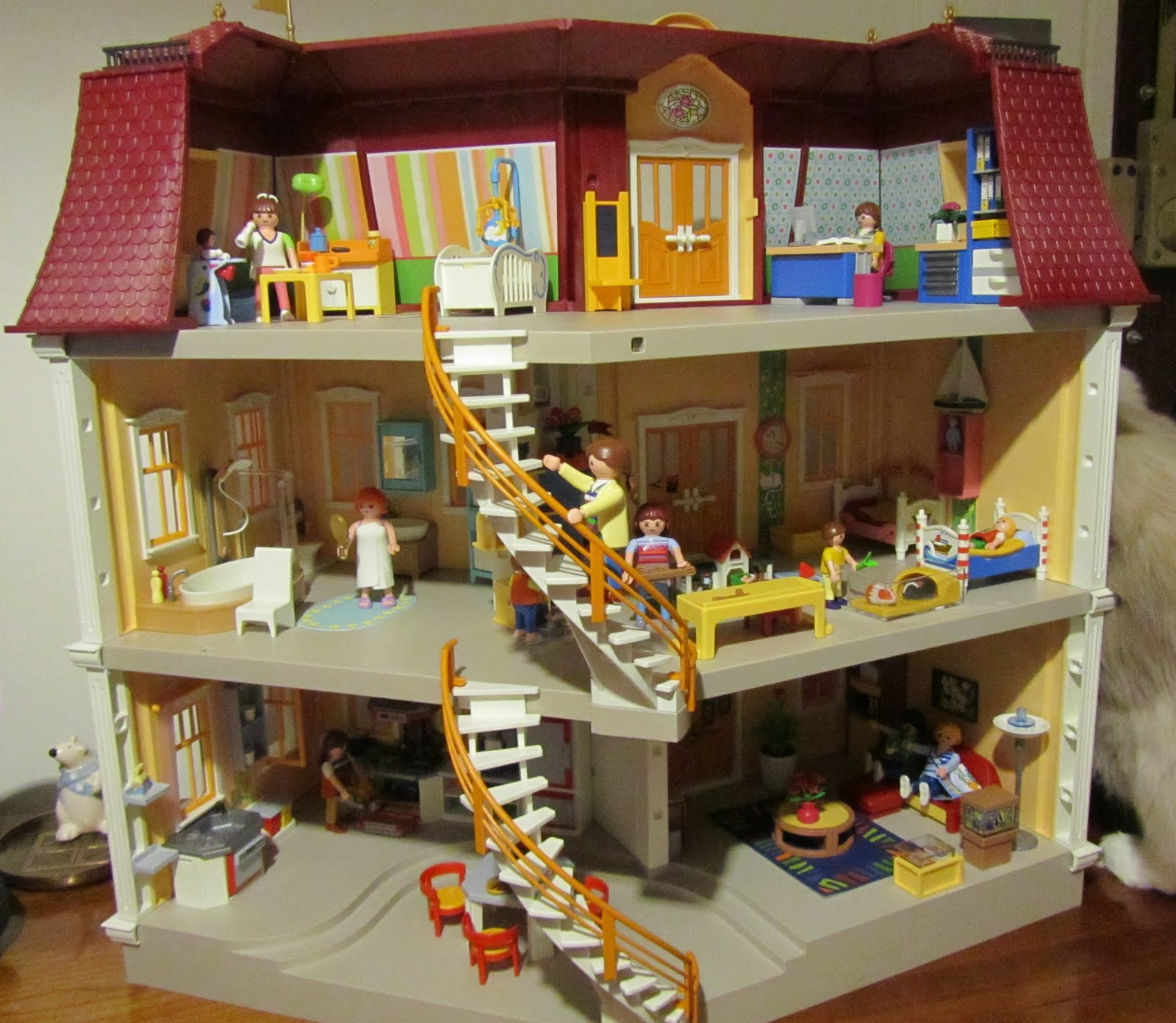 grande maison de ville playmobil