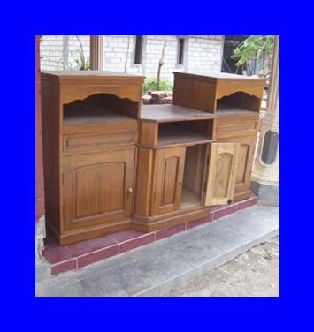 Mulya Jati Furniture Buffet Kayu Jati