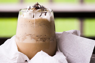 coffee in milkshake, java milkshake, milk shake idea, milk shake recipe, how to milkshake