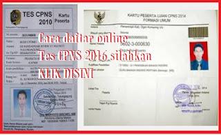 pendaftaran online CPNS 2016