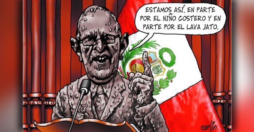 Carlincaturas Sábado 29 Julio 2017 - La República