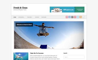 Fresh & Clean WordPress Theme