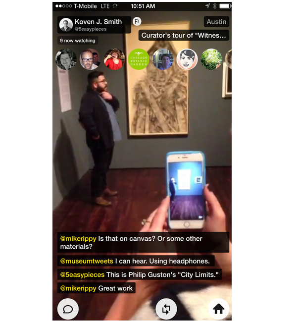 Periscope mobile Android