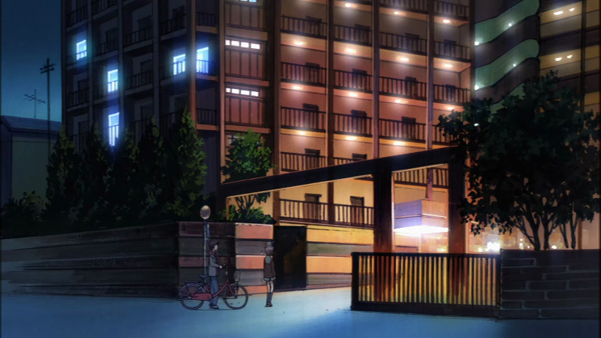 I Ve Visited The Apartment Building Where Yuki Nagato Lives This Place Is Close To Kōyōen Station Haruhi Suzumiya School Walk Started