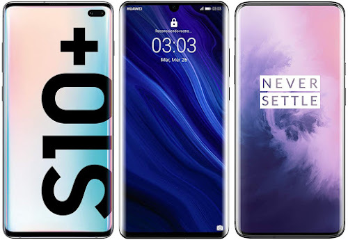 Samsung Galaxy S10 Plus vs Huawei P30 Pro vs OnePlus 7 Pro