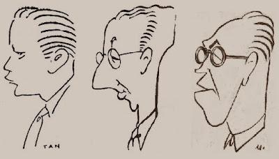 Los ajedrecistas Josep Ramon Palau, Joaquim Calduch y Àngel Ribera