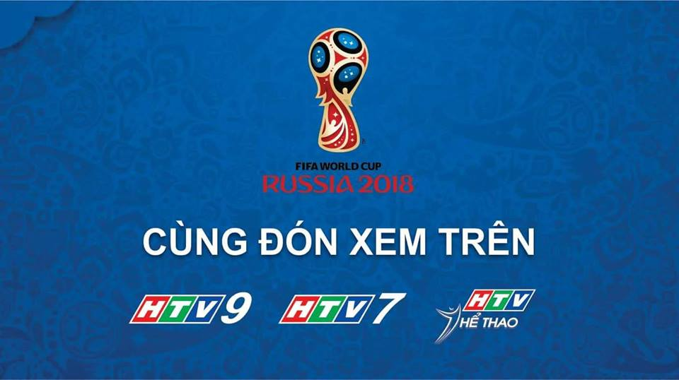 Channel HTV Group Menyiarkan Pertandingan Piala Dunia 2018 Rusia
