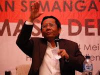 Ini Kekhawatiran Mahfud MD Terhadap Insiden Khalid Basalamah