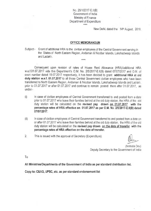 additional-HRA-to-civilian-employees-in-NE-region-A_N-island-lakshadweep-ladakh