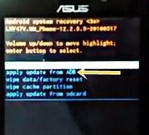 Cara Flash Asus Zenfone Go x014d Bootloop Via Adb Fastboot