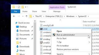 Cara Membuka Command Prompt di Windows 10
