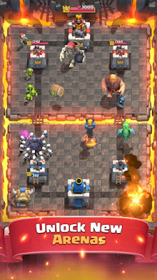 Clash Royale v2.2.1 Mod Apk (Unlimited Gems/Gold/Level)