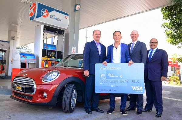Visa and Caltex announce winner