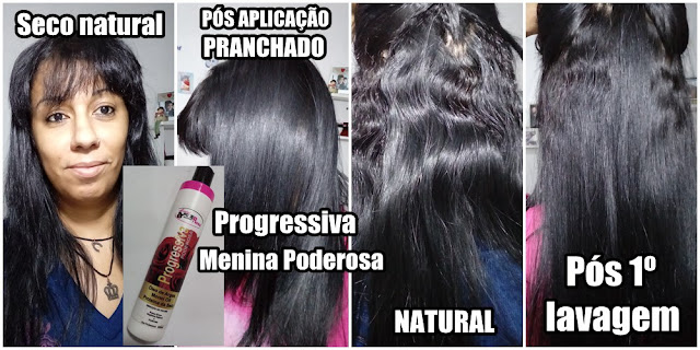 Progressiva Orgânica Natural Menina Poderosa
