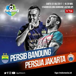 Susunan Pemain Persib Bandung vs Persija Jakarta