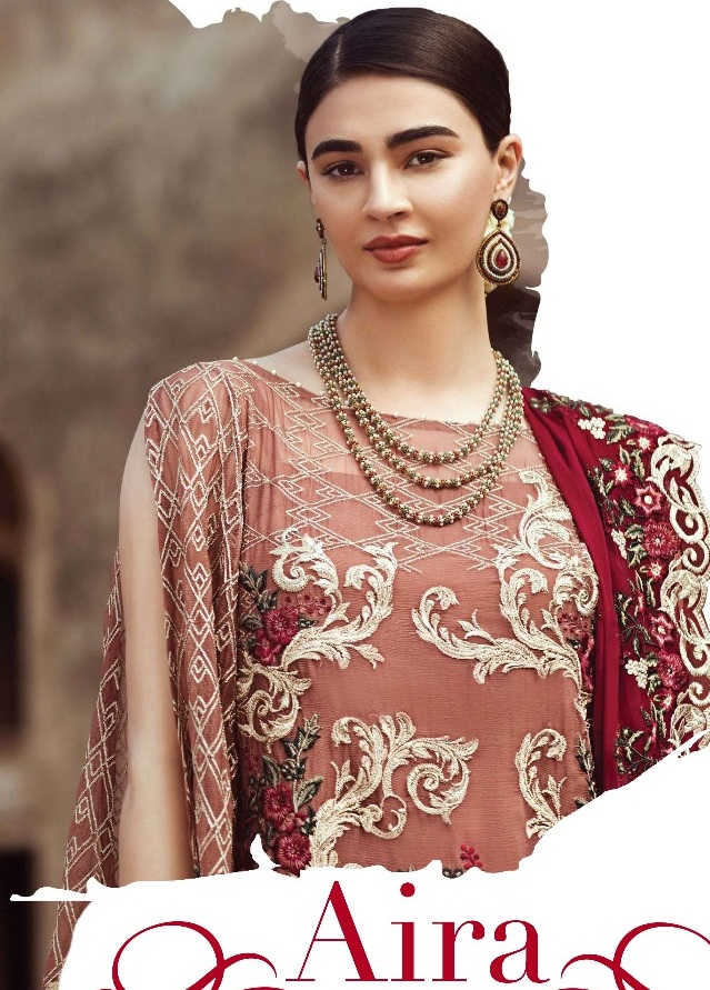 7c4ebcba57 Shraddha Designer Aira Pakistani Suits wholesaler. Wedding Wear Cotton ...