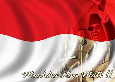 Kemerdekaan merupakan hak semua bangsa  Contoh Puisi Pahlawan Pejuang Kemerdekaan Indonesia
