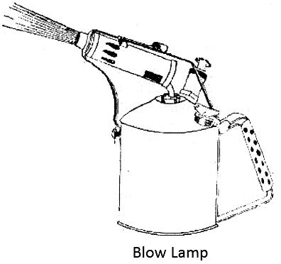 Electrical Topics Blow Lamp