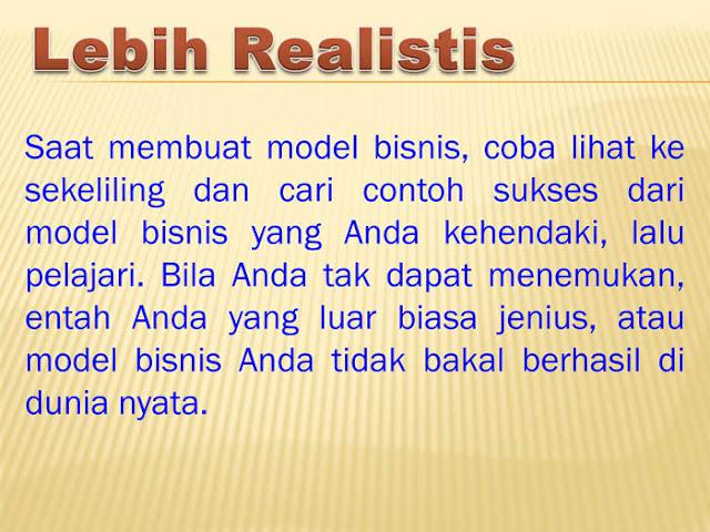 Lebih Realistis