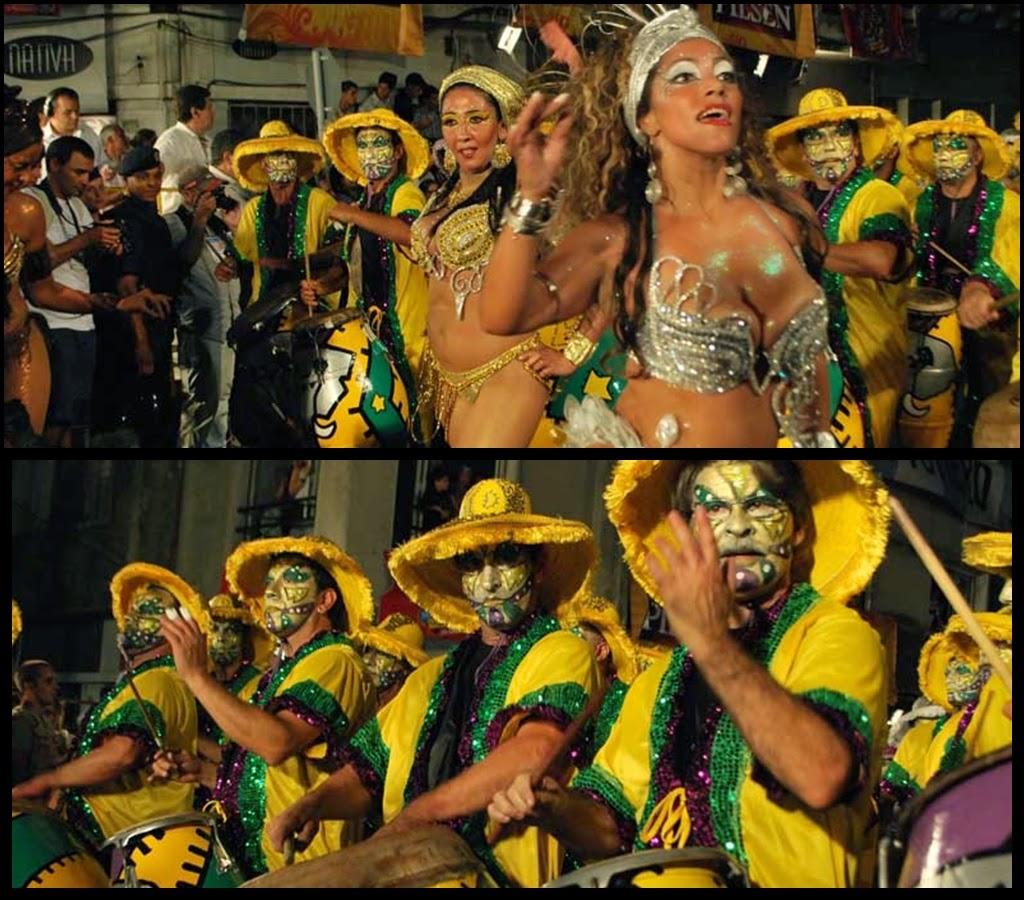 Desfile de Llamadas.La Gozadera. Montevideo. 2011.