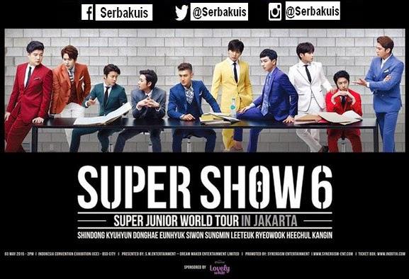 Mau Tiket GRATIS Super Junior Super Show 6?? Gini Caranya…