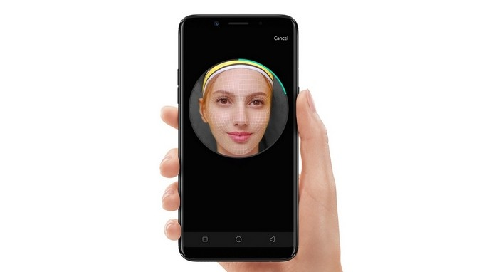 Oppo F5 Face Recognition