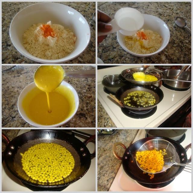 Images of Motichoor Ladoo Recipe / Motichur Ke Laddu / Motichoor Laddu Recipe - How to make Motichoor Ladoo.