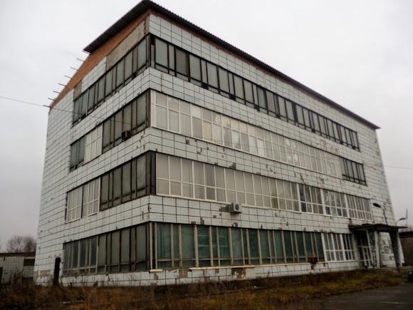 Костянтинівка. Адміністративна будівля скляного заводу