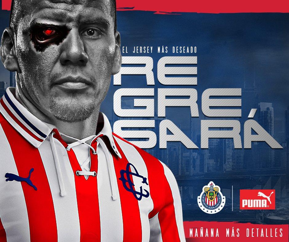 Chivas anuncia regreso de jersey conmemorativo.