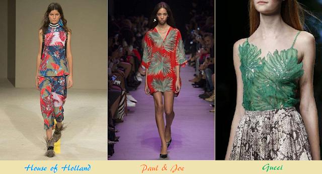 moda donna estate 2016 tendenze fantasie floreali e ropicali