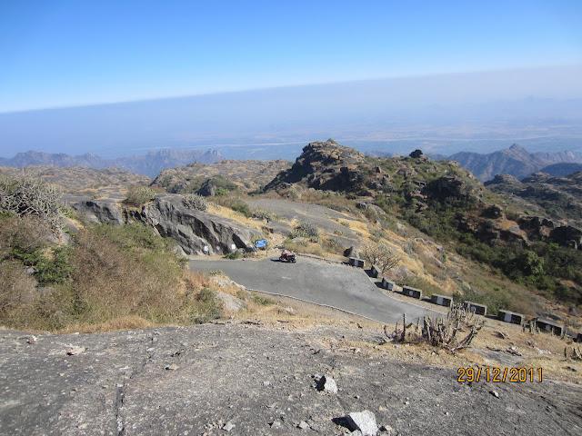 aravali hills in guru shikhar