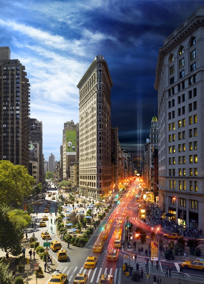 Cool New York Pictures - Day and Night Combined
