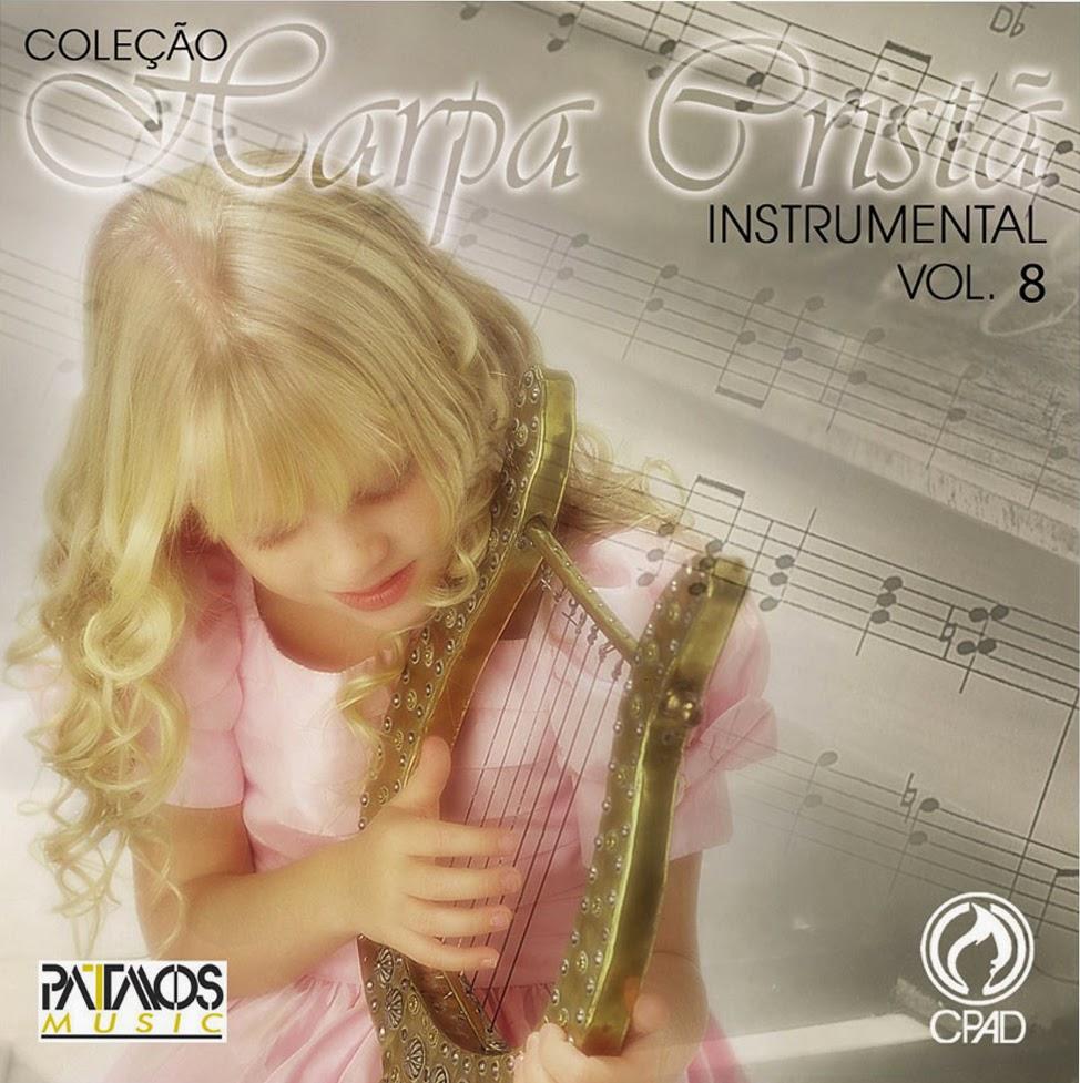 Patmos Music-Coleção Harpa Cristã Instrumental-Vol 8-