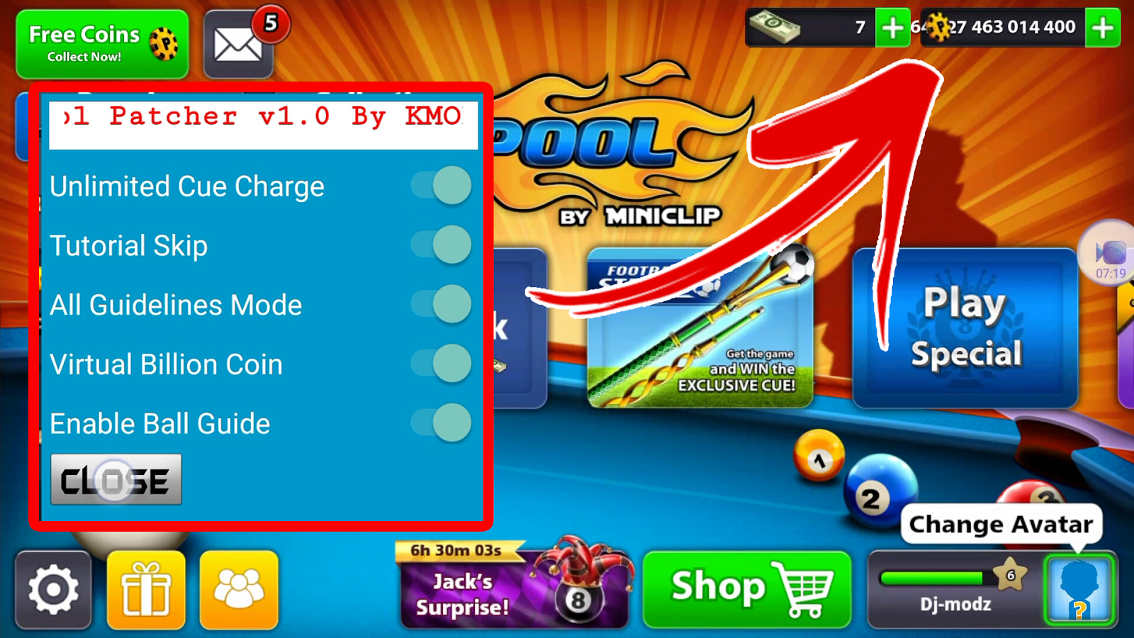 8 ball pool aim hack game download