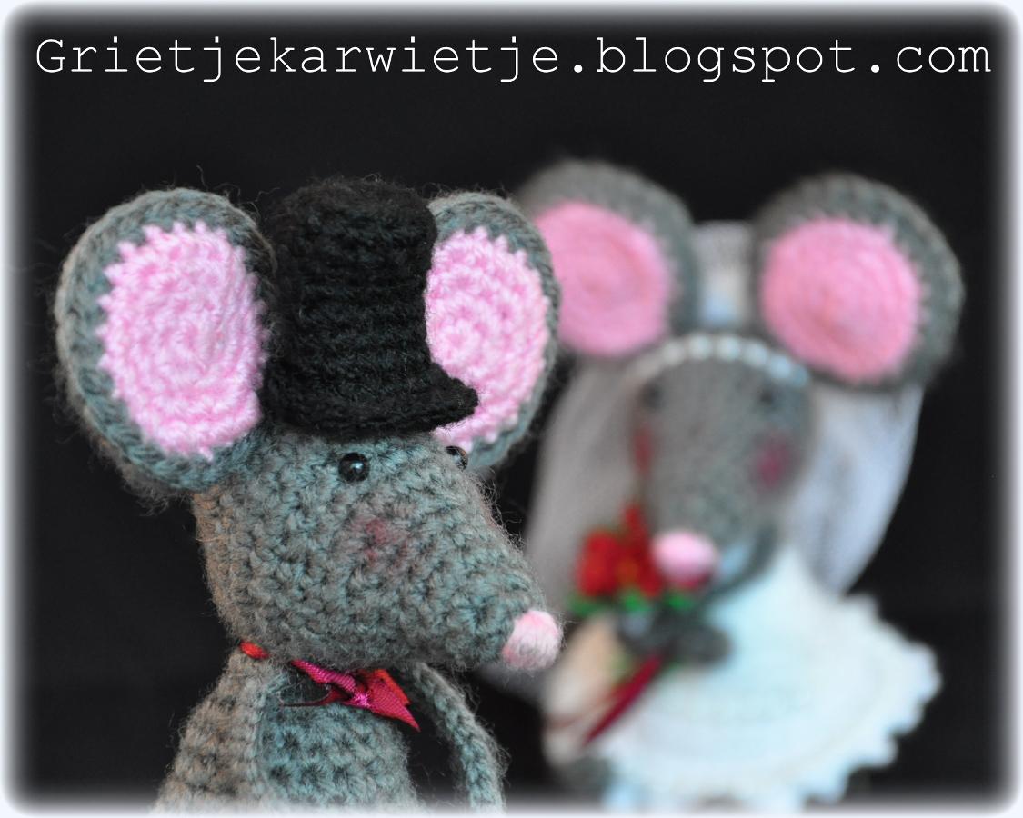 Grietjekarwietjeblogspotcom Haakpatroon Pita De Muis
