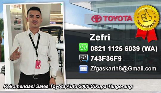 Toyota Cikupa Kabupaten Tangerang