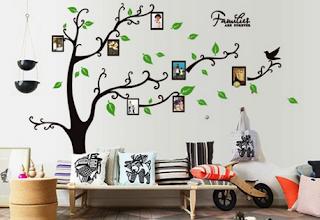 Cara menghias dinding ruang tamu agar terlihat cantik