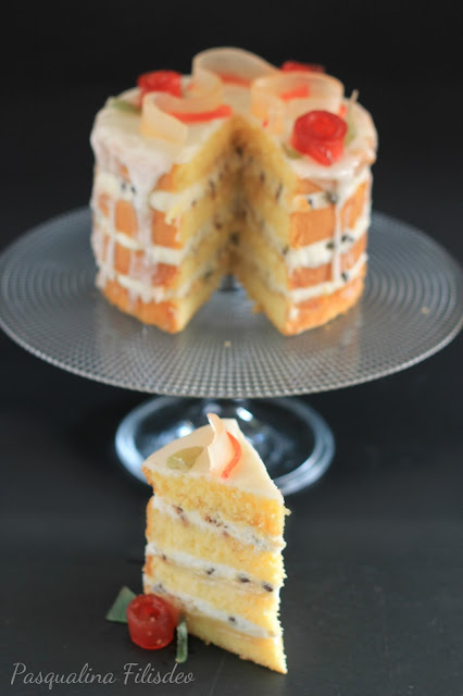 Una naked cake siciliana per Sweety of Milano