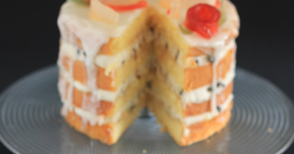 Una naked cake siciliana per Sweety of Milano