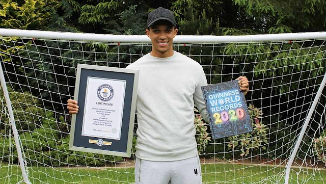 Liverpool defender Trent Alexander-Arnold bags Guinness World Record for most assists in a single season - Congrats to him