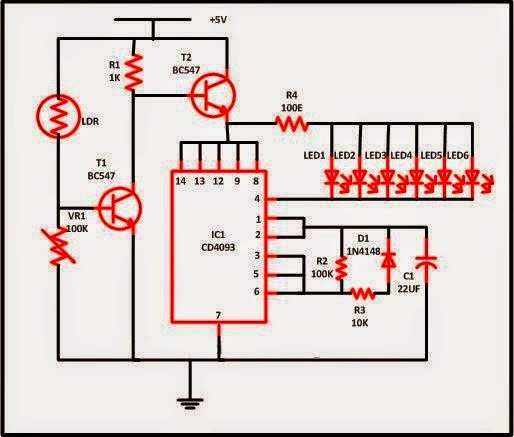 LED Christmas Lights Circuit Schematics World