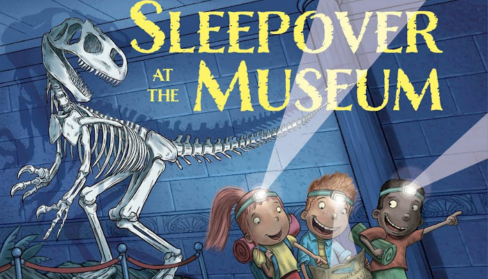 """Book Review: """"Sleepover at the Museum,"""" a Children's Picture Book by Karen LeFrak"""