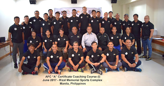 "Philippine Football Federation Hosts ""A"" License Coaching Course"