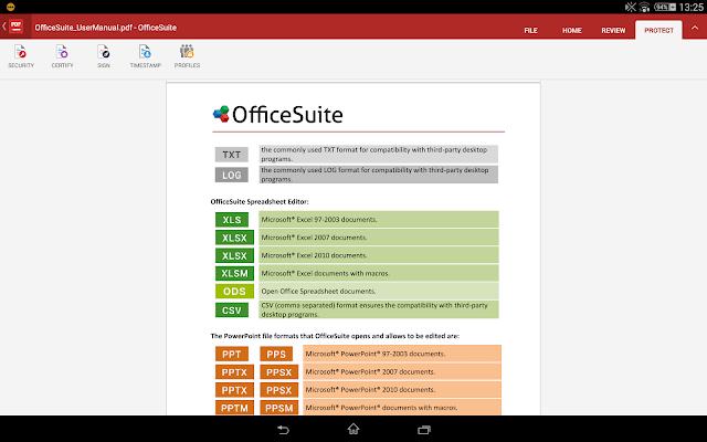 OfficeSuite 8 + PDF Editor Premium v8.5.4649 APK Full