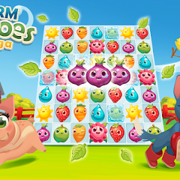 Farm Heroes Saga v2.24.8 MOD Apk [Unlimited Lives and Boosters]