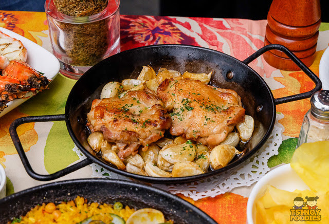 spanish garlic chicken