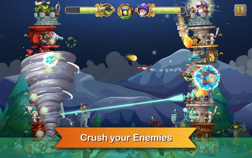 Tower Crush Hack Full Tiền Vàng Kim Cương Cho Android