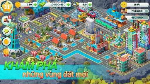Town City-Trò chơi 4 U Thiên đường Sim dựng làng