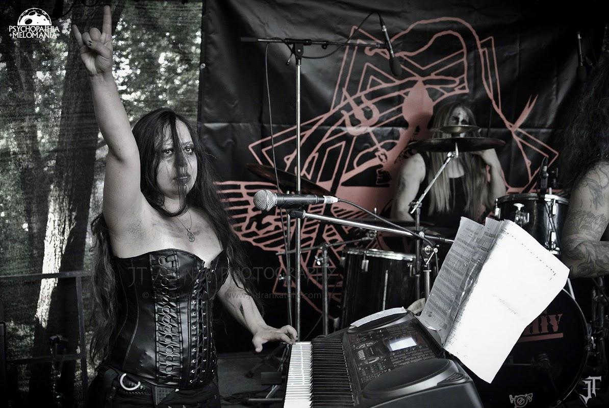 Mogh @Under The Black Sun XVIII, Helenenauer, Allemagne 03/07/2015