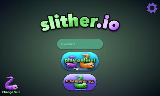 Permainan slither.io Apk